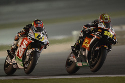 Alvaro Bautista, Honda Gresini and Stefan Bradl, LCR Honda MotoGP