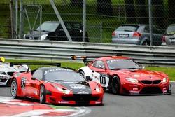 #57 Vita4One Team Italy Ferrari 458 Italia: Eugenio Amos, Giacomo GiaPetrobelli, Alessandro Bonacini