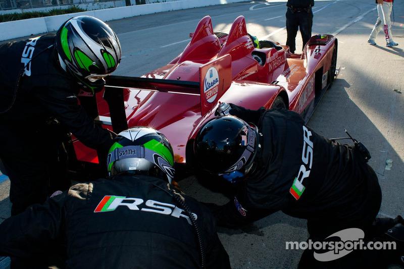 #9 RSR Racing Oreca FLM09: Bruno Junqueira, Tomy Drissi