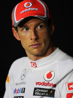 Press conference: second place Jenson Button, McLaren