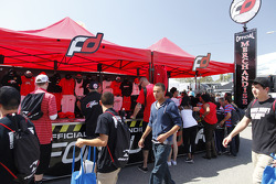 The Formula Drift tent