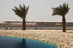 Michael Schumacher, Mercedes AMG F1 leads Kamui Kobayashi, Sauber