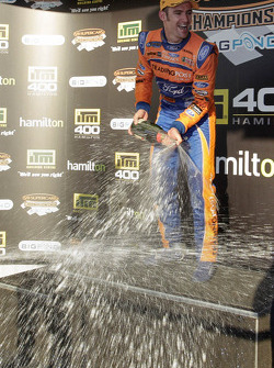 Race winner Will Davison