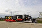 Jamie McMurray's hauler