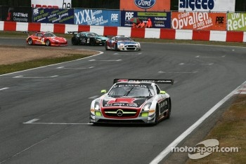 #37 All-Inkl.com Mnnich Motorsport Mercedes-Benz SLS AMG GT3: Thomas Jger, Nicky Pastorelli