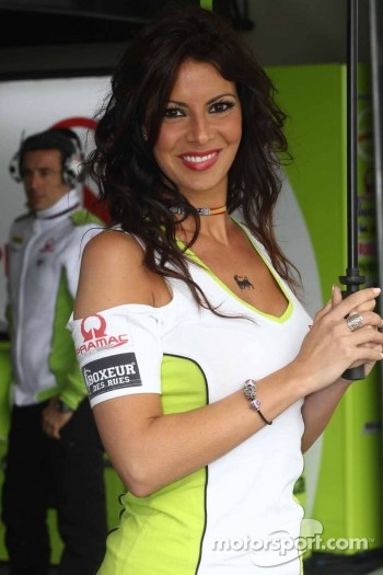 Pramac girl
