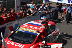 Second place Alexey Dudukalo, SEAT Leon WTCC, Lukoil Racing Team
