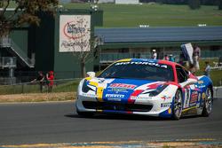 #3 Ferrari of Fort Lauderdale 458CS: Francesco Piovanetti