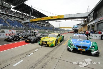 The Cars of Gary Paffett, Team HWA AMG Mercedes, AMG Mercedes C-Coupe, Bruno Spengler, BMW Team Schnitzer BMW M3 DTM, Mike Rockenfeller, Audi Sport Team Phoenix Racing Audi A5 DTM, Augusto Farfus, BMW Team RBM BMW M3 DTM