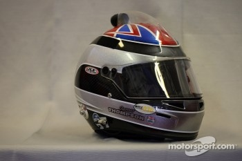 Helmet of James Thompson, LADA Granta Sport, LADA Sport