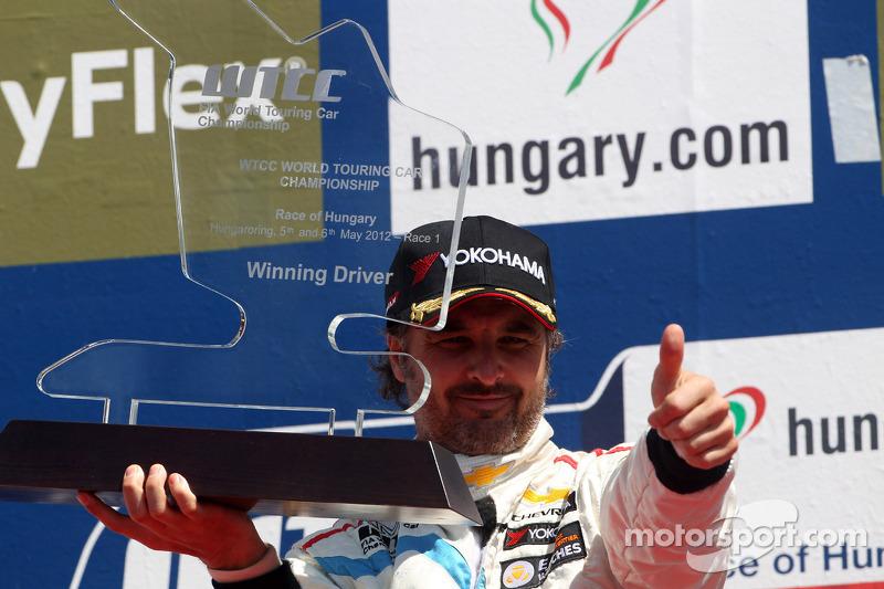 Yvan Muller, Chevrolet Cruze 1.6T, Chevrolet race winner