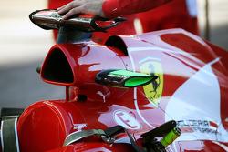 Ferrari airbox detail