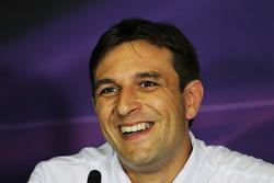 Pierre Wache, Sauber, in the FIA Press Conference