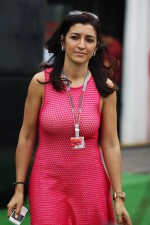 Fabiana Flosi, fiance of Bernie Ecclestone, CEO Formula One Group
