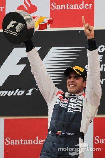 1st place Pastor Maldonado, Williams F1 Team