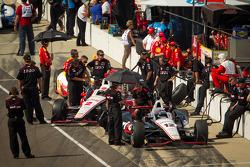 Will Power, Verizon Team Penske Chevrolet and Ryan Briscoe, Team Penske Chevrolet