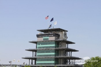 The Pagoda on a clear Indiana day