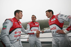 Andre Lotterer, Benoit Tréluyer, Loic Duval