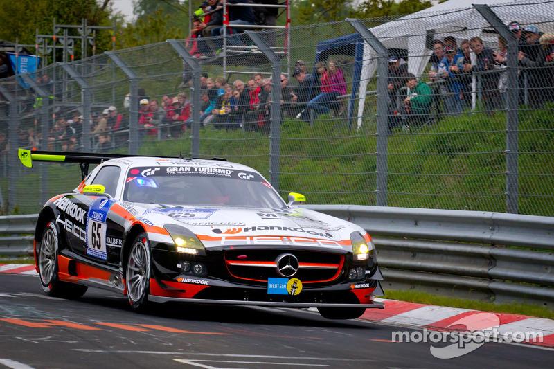#65 Hankook-Team Heico Mercedes-Benz SLS AMG GT3: Bernd Schneider, Lance David Arnold, Alexandros Margaritis, Kenneth Heyer