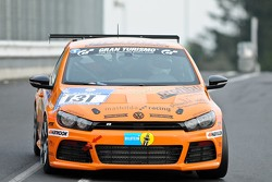#131 mathilda racing Team JP-Performance Volkswagen Scirocco: Michael Paatz, Jean-Pierre Kraemer, Fabrice Reicher, Daniel Dupont