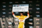 Third fastest Ryan Hunter-Reay, Andretti Autosport Chevrolet