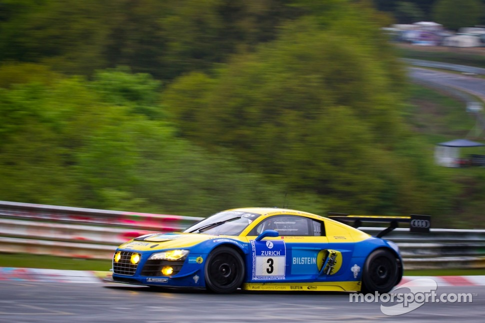#3 Audi Sport Team Phoenix Audi R8 LMS Ultra: Marc Basseng, Christopher Haase, Frank Stippler, Markus Winkelhock
