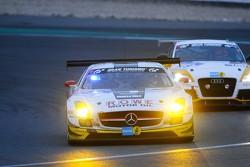 #21 ROWE Racing Mercedes-Benz SLS AMG GT3: Michael Zehe, Marko Hartung, Roland Rehfeld, Mark Bullitt
