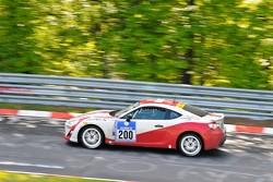 #200 Toyota Swiss Racing Toyota GT86: Peter Wyss, Lorenz Frey