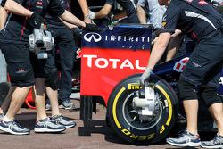 Red Bull Racing rear wing
