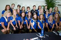Marco Andretti, Andretti Autosport Chevrolet and James Hinchcliffe, Andretti Autosport Chevrolet in charming company