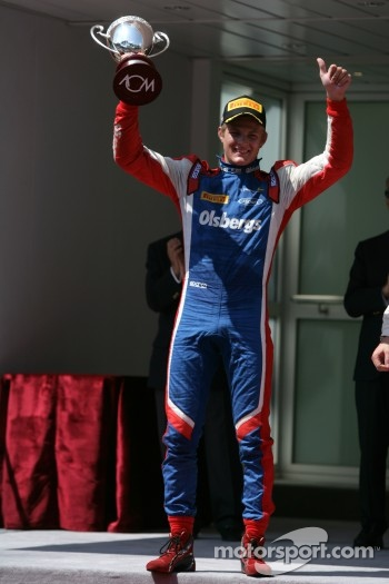 Podium: third place Marcus Ericsson
