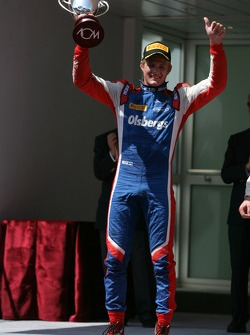 Podium: third place Marcus Ericsson