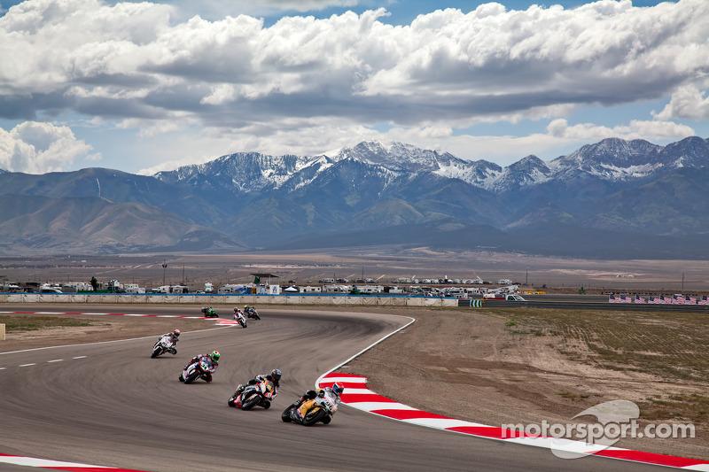 WSBK Practice at Miller Motorsports Park