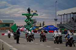 World SuperBike Superpole start