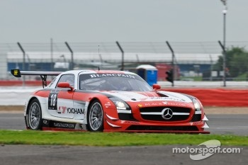 #18 Black Falcon Mercedes-Benz SLS AMG GT3: Bret Curtis, Mike Parisy, Steve Jans
