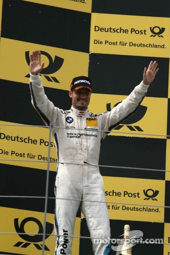 Podium, 2nd Martin Tomczyk, BMW Team RMG BMW M3 DTM