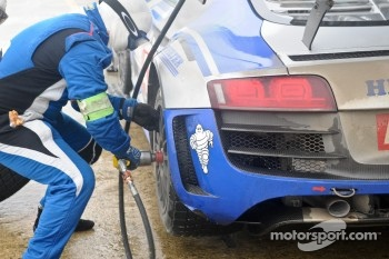 #41 Sainteloc Racing Audi R8 LMS: Marc Sourd, Pierre Hirschi, Robert Hissom