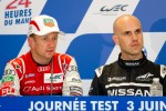 Post-test day press conference: Allan McNish and Marino Franchitti