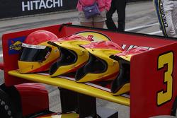 Penske Racing helmets