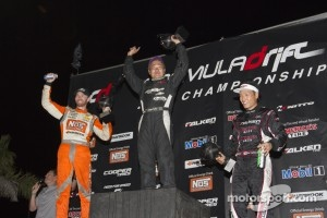 First place Daigo Saito, second place Chris Forsberg, third place Daijiro Yoshihara