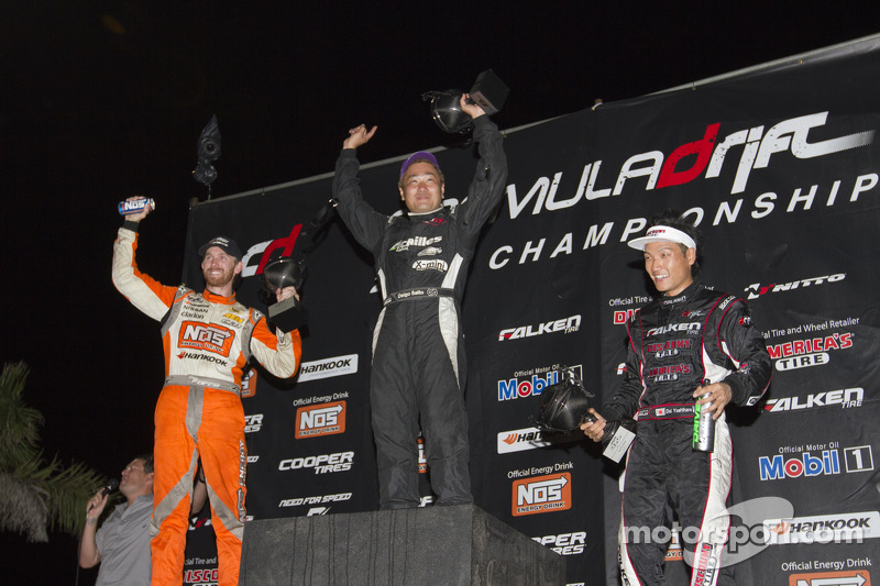 First place Daigo Saito, second place Chris Forsberg, third place Daijiro Yoshihara