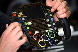 #0 Highcroft Racing Delta Wing Nissan steering wheel