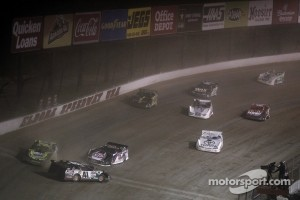 Late Model action at Eldora Speedway