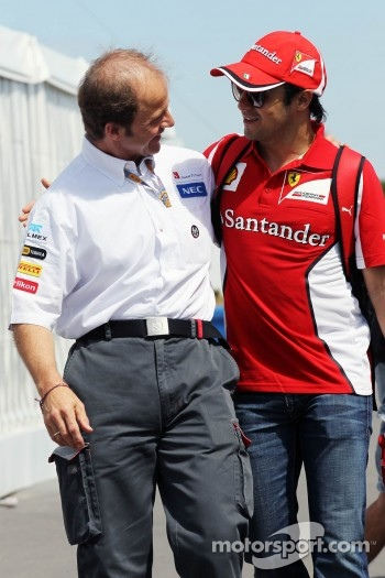 Joseph Lieberer, Sauber Physio with Felipe Massa, Scuderia Ferrari