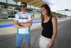 Loic Duval and Cyndie Allemann