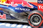 Sebastian Vettel, Red Bull Racing exhaust detail