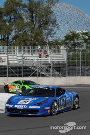 Damon Ockey Ferrari of Ontario 458CS