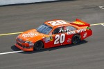 Race winner Joey Logano, Joe Gibbs Racing Toyota