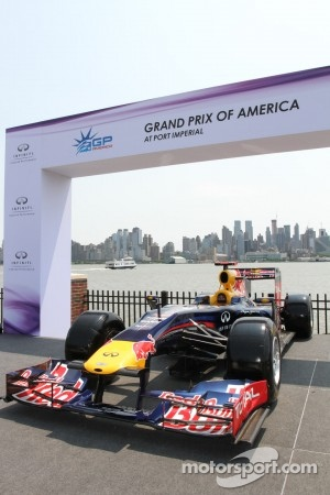 Red Bull show car