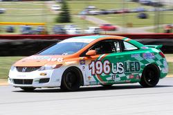 #196  RSR Motorsports Honda Civic Si Ron Farmer Jason Hart